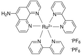 双(2,2-二吡啶)-(5-氨基邻二氮杂菲)双(六氟磷酸)钌