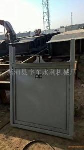 1000×1000碳钢防腐闸门/钢制闸门/钢板闸门