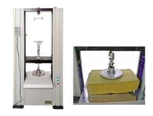 聚酯氨泡沫压陷试验机产品图片