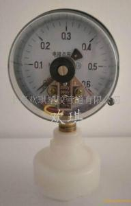 PVDF電接點隔膜壓力表-PVDF電接點隔膜壓力表