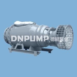 雪橇式潛水軸流泵臥式安裝節省土建安裝面積流量大效率高