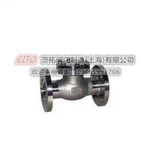 全不銹鋼焊接DH61F-40P低溫止回閥