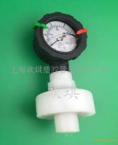 PVDF隔膜壓力表-PVDF耐震隔膜壓力表