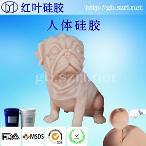 液体硅胶厂家直销抗撕裂性能好的人体倒模用人体硅胶 产品图片