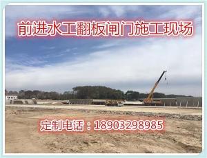 湖北武汉液压翻板闸门工程安装