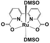 Ruthenium-2,2'-bipyridine-6,6'-dicarboxylate-di-dmso