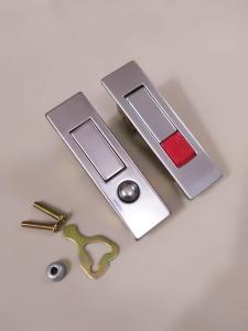消防箱锁 消火栓箱锁 不锈钢弹跳锁 MS507锁批发直销产品图片