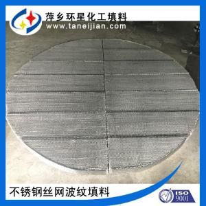 不锈钢丝网波纹填料 bx500型规整填料 精馏塔丝网填料 产品图片