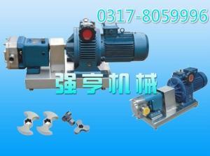 遼寧強亨機械不銹鋼蝴蝶型轉子泵廠家直銷性能可靠