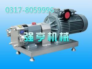 遼寧強亨機械不銹鋼凸輪式雙轉子泵