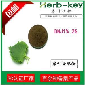 桑叶提取物DNJ 1% 2%慧科厂家  现货直销