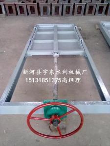 1米 1.5米渠道机门一体式钢制闸门价格
