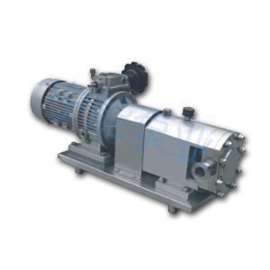 上海宁能通用型 式不锈 钢凸轮转子泵