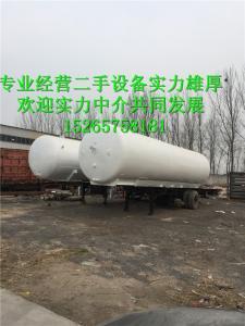 专业回收二手低温液态乙烯槽车产品图片