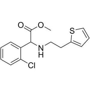 D-(+)-alpha-(2-噻吩乙胺基)-alpha-(2-氯苯基)醋酸甲酯盐酸盐厂家直销
