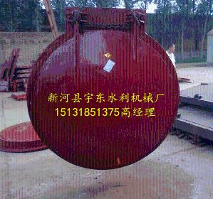 铸铁拍门价格 产品图片