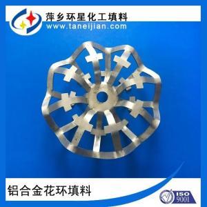 不锈钢花环铝合金材质金属花环填料喷碱塔脱水器填料 产品图片