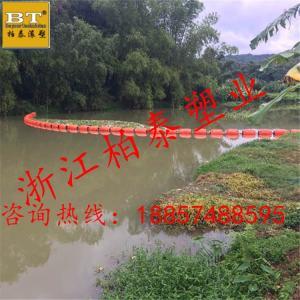 江苏水面防腐蚀塑料拦污浮体供应厂家产品图片