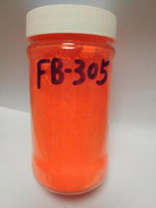 韩国旭成化学(UKSEUNG)荧光颜料荧光橙FB-305(耐迁移、易分散、低卤素、环保) 产品图片