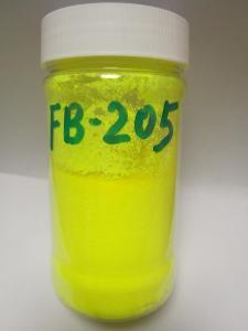 韩国旭成化学(UKSEUNG)荧光颜料荧光黄FB-205(耐迁移、易分散、低卤素、环保) 产品图片