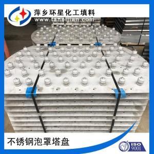 泡罩塔盘 DN50 80 100圆形泡罩塔盘 定制生产不锈钢泡罩塔板 产品图片