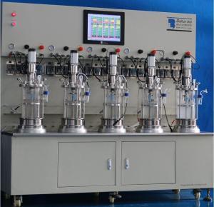 5升5联玻璃发酵罐产品图片