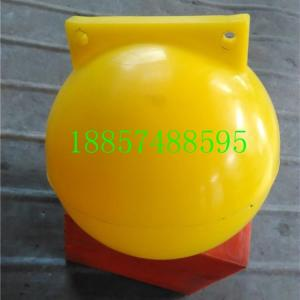 标识定位海洋警戒线塑料浮球批发价格