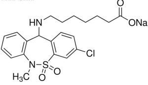 噻奈普汀鈉