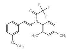 2,2,2-三氟乙酸 1-(2,4-二甲基苯基)-2-[(3-甲氧基苯基)亞甲基]酰肼