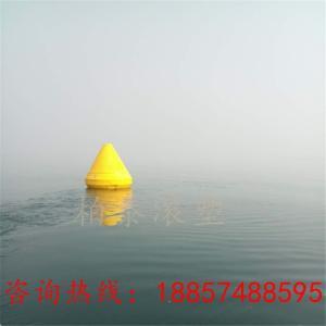 水库航道警示塑料浮标 禁航带灯警示航标批发产品图片