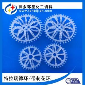 特拉瑞德环填料洗涤层填料花环填料除雾层填料型号R1R2 产品图片