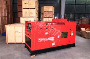 400A静音柴油发电电焊机组 产品图片