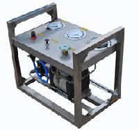 便携式高压试压撬/可移动式高压水压装置