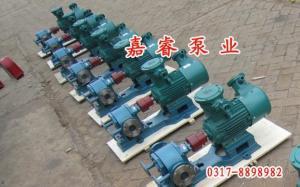 BWCB瀝青保溫泵磨損小噪音低廠家直銷嘉睿泵業有限公司
