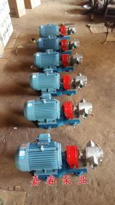 耐腐蝕不銹鋼油泵KCB33.3不銹鋼齒輪泵發往安徽合肥