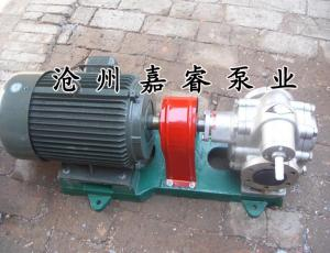 嘉睿牌KCB-300銅齒輪油泵質量放心值得信懶