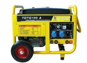 190A汽油发电电焊一体机可带照明