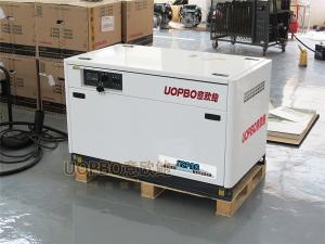 封闭式10kw风冷汽油发电机