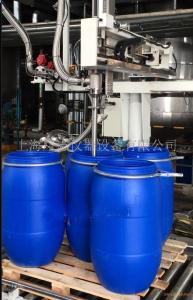 吨桶包装机,摇臂式灌装机,四桶位灌装机
