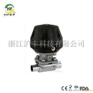 不銹鋼衛生制藥級氣動隔膜閥