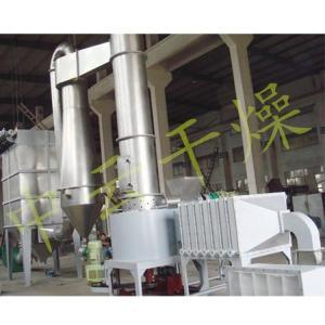烘干漂粉精专用闪蒸干燥机强烈旋转式闪蒸气流烘干机