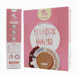 红豆薏米枸杞粉  代餐粉 可贴牌代加工