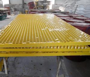4S店洗車操作平臺玻璃鋼格柵板