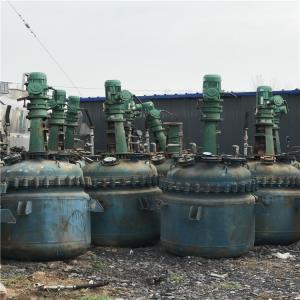 旧电加热反应釜回收厂家产品图片