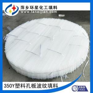 250型塑料孔板波纹填料PP聚丙烯材质波纹板规整填料 产品图片