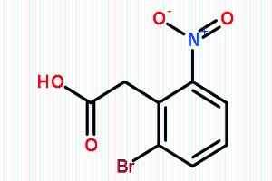2-(2-溴-6-硝基苯基)乙酸 CAS:37777-74-5