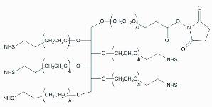 六臂PEG活性酯,6ARM-PEG-NHS 产品图片