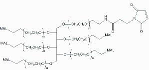 六臂PEG马来酰亚胺 产品图片