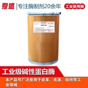 碱性蛋白酶 工业级 洗涤添加剂 20万酶活 酶制剂厂家批发 产品图片