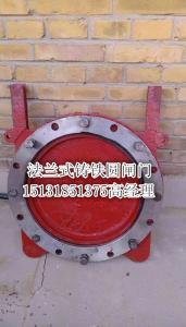 污水处理专用DN300法兰式/附壁式铸铁镶铜圆闸门/手动/手电一体厂家直供